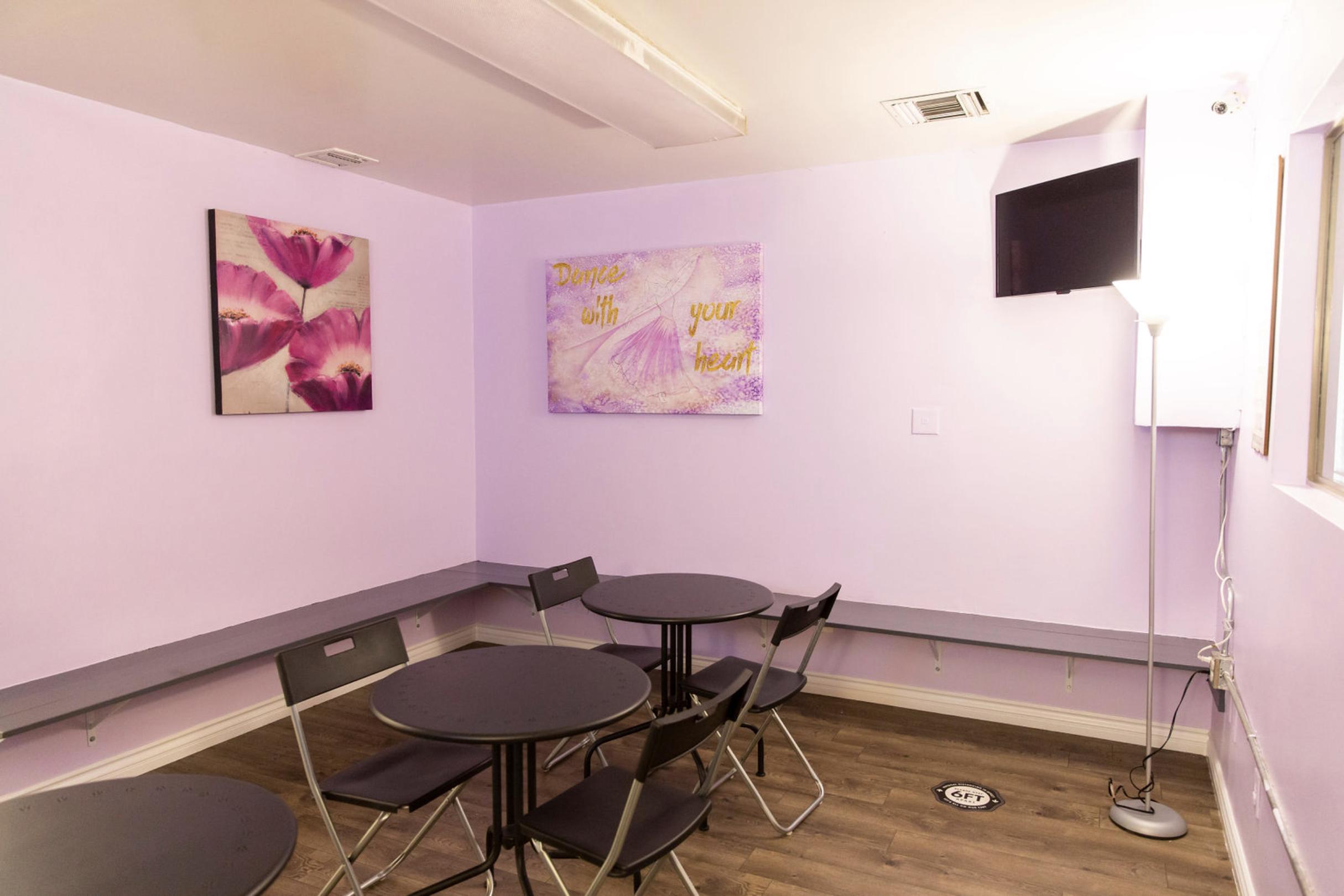 Studio A - Parent & Student Lounge
